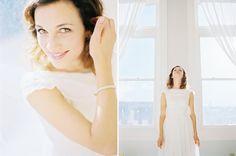 bridal portrait - symmetry.