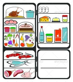 Refrigerator with Food  #GraphicRiver         The refrigerator with food on a white background. Colorful composition. In the archive are EPS-8, AI and JPG . All elements on the image are collected in group and are easily edited. The gradient was not used.     Created: 3October13 GraphicsFilesIncluded: JPGImage #VectorEPS #AIIllustrator Layered: No MinimumAdobeCSVersion: CS2 Tags: Gammon #apple #banana #beef #bird #broccoli #cake #carrots #cheese #chicken #cooling #dairy #edibles #eggs #fish…