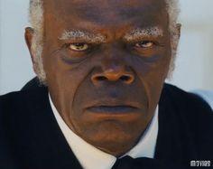 Samuel Jackson in Django Unchained.