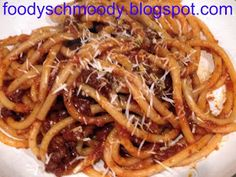 Foody Schmoody...I'm JUST Cooking: Bolognese - Anne Burrell Recipe