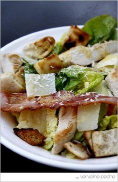 Verveine Pêche: salade caesar
