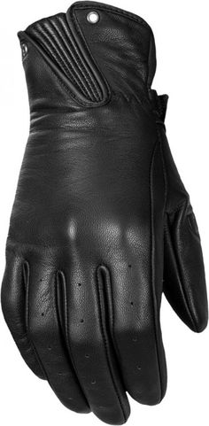 Highway 21 Roulette Leather Womens Street Riding Racing Motorcycle Gloves