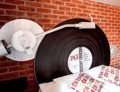 Vinyl Record Bed
