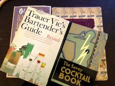 A Buyer's Guide to Vintage Cocktail Books