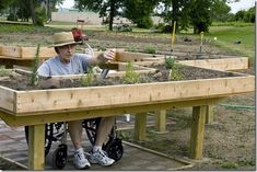 bigstock Handicapped Gardener 21088355 Accessible Gardening: Eight Tips for Creating a Home Garden for the Disabled