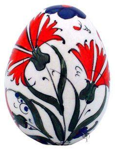 Iznik Design Ceramic Egg