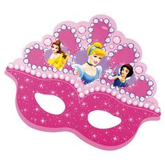 Oh My Fiesta! in english Princess Cupcake Toppers, Princess Cupcakes, Disney Princess Birthday, Princess Theme, Prince Party, Party Props, Mask For Kids, 4th Birthday Parties, Party Favors