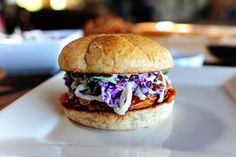 BBQ Chicken Sandwiches with Cilantro Slaw