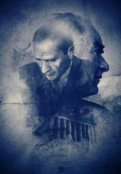 Mustafa Kemal Atatürk The Godfather Wallpaper, Allah, Turkish Army, The Legend Of Heroes, The Little Prince, Great Leaders, Hottest Models, My Hero, Jon Snow