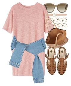 """""""Look #545"""" by foreverdreamt ❤ liked on Polyvore featuring CÉLINE, Toast, ASOS, Chloé, River Island, women's clothing, women, female, woman and misses"""