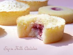 palets_moelleux_vodka_citron_framboise7 Thermomix Desserts, No Cook Desserts, Sweet Desserts, No Cook Meals, Sweet Recipes, Delicious Desserts, Cake Recipes, Dessert Recipes, Yummy Food