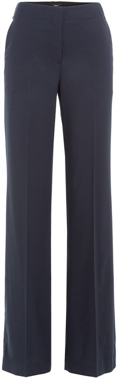 Theory Wide Leg Virgin Wool Pants Wool Pants, Theory, Wide Leg, Legs, Stylish, Women, Fashion, Moda, Fashion Styles