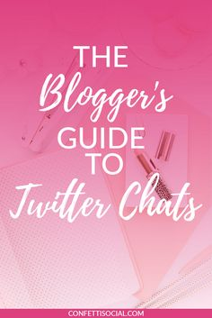 Twitter chats are a great way to build community and grow your blog/biz. Click through and find out some of the best Twitter chats for bloggers.  | Twitter tips | social media tips | Twitter chats | blogger's guide to Twitter chats