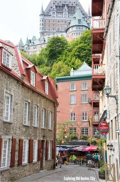 Exploring Old Quebec City: where to stay, great restaurants (gluten-free eats), historical sites to visit, touring with kids.