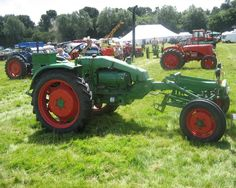 odd tractors | ... extremely unusual Tractor, a Lantz Bulldog, looks a comfortable ride