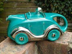 Sadler racing car teapot -C.1947+