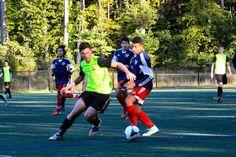 Team America 96 (TAFC96) vs BFC Barca 96 Elite (NCSL U18/U19 Division 1, October 5, 2014)- Anthony Nauls #12, Maurice Martinez #21, John Paul Orozco #8
