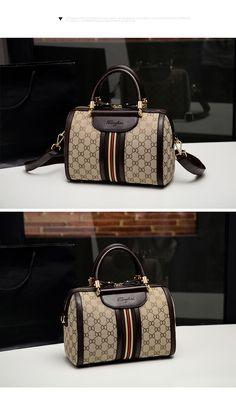 Big bag 2016 autumn new simple handbag Boston pillow package canvas shoulder  bag handbag Europe 05ef5cfeedd5