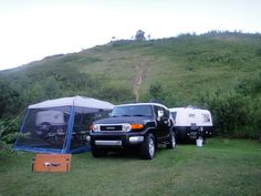 Black's boler and toyota yj.