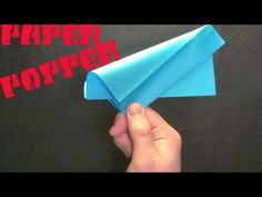 How to Make a Paper Popper! (Easy and Loud) - YouTube