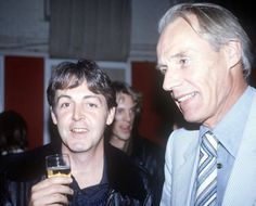Paul & Sir George Martin
