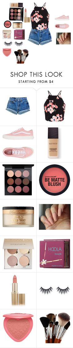 """""""SUMMER TIME MADNESS"""" by emmalovesbooks2 ❤ liked on Polyvore featuring Vans, Laura Mercier, MAC Cosmetics, Too Faced Cosmetics, Benefit and L'Oréal Paris"""