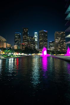 This is just a simple photo of the Los Angeles skyline that I took this past Saturday night. #photography #losangeles