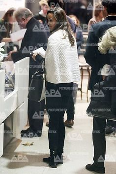 Pippa Middleton seen at the American Express Conservation Lecture in London (Oct. 22nd)