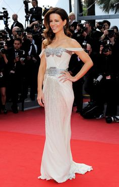 Kate Beckinsale in Gucci Première at the 2010 Cannes Film Festival