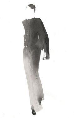 Aurore de La Morinerie : Agent & Artists Plus Sketch Painting, Figure Painting, Mats Gustafson, Minimal Drawings, Art Mat, Illustration Mode, Fashion Photography Inspiration, Monochrom, Drawing People