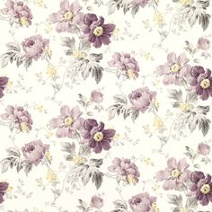 Peony Garden Wallpaper - Laura Ashley - $46.00 - domino.com