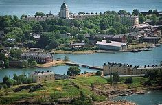 Suomenlinna, a sea fortress, is part of present day Helsinki