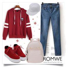 """Romwe no.6"" by almamehmedovic-79 ❤ liked on Polyvore"