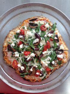 Veggie Grilled Pizza #springishere #pulehupizzapdx