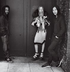 Forces of Fashion in Vogue US September 2015 - Kendrick Lamar, Anna Ewers and Alexander Wang