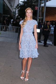 Candice Swanepoel - The CFDA Fashion Awards in NYC