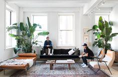 Art in Living Room | Tappan Collective #art #prints #interiordesign