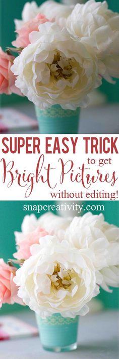 Make a Light Reflector- A Quick, Free Way To Brighter Photos!