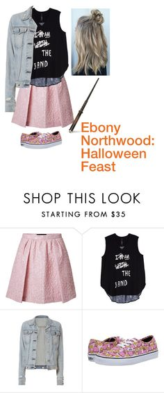 """Ebony Northwood: Halloween Feast"" by photogeekgirl ❤ liked on Polyvore featuring Giambattista Valli, Melissa McCarthy Seven7, rag & bone, Vans, bathroom and plus size clothing"