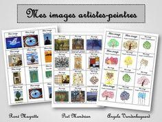 Mes images artistes-peintres - La classe de Ludivine