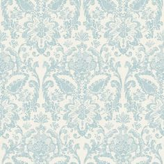 York AM8749 American Classics Floral Damask Wallpaper