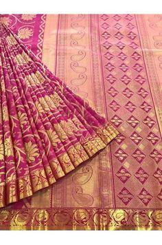 Bridal Grand Wedding Kanjeevaram Silk Saree With a Fancy Zari Border Product Code: SSJG04238 Price: ₹19,900 #Wedding #Kanchipuram #Kanjivaram #Kanjeevaram #Designersarees #Ethnicwear #Exclusivedesign #India # Saree fashion #Sari #Beautiful Saree #wedding #bridalwear #indianwedding #designer #bridal #desi #indianfashion #partywear #ethnic #sarees #onlineshopping Sarees #indianbride #indianwear #Saree love #uk #usa # canada #traditional #gorgeous #bride #elegant