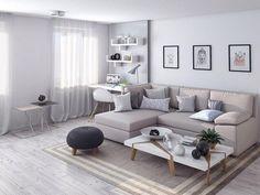 Однокомнатная хрущевка после перепланировки, 33 кв. м - Дизайн интерьеров   Идеи вашего дома   Lodgers