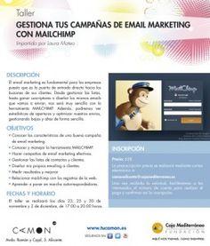 """Curso """"Gestiona tus campañas de Email Marketing con Mailchimp"""" en Alicante CAMON"""