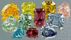 Diamonds are the birthstone of April. A little known fact is that these gems come in colours.