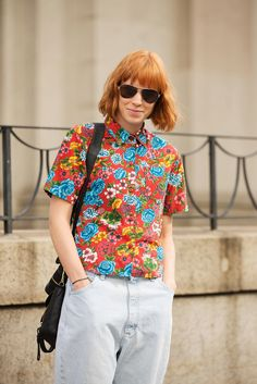 The 46 Best Hairstyles From Fashion Week #refinery29  http://www.refinery29.com/hairstyles-from-fashion-week#slide19  Mary O'Regan is proof that red heads should wear red.