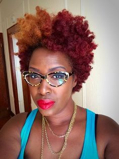 Get this fab look with #TWA #naturalhair Queen Daphney ~ Queen Of Kinks, Curls & Coils™ (Neno Natural)