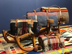 Take that special Pendleton blanket with you during your travels.