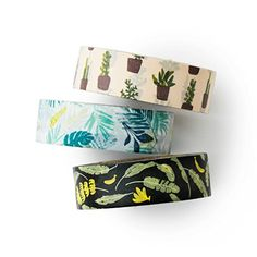 Washi tape set - In the Tropics - value pack - DIY - packaging - decorative tape - weddings - Love My Tapes