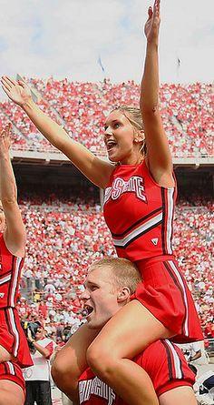 ohio state cheerleader shouldersmoved from @Kythoni Cheerleading board http://www.pinterest.com/kythoni/cheerleading/ #KyFun CHEER m.5.29